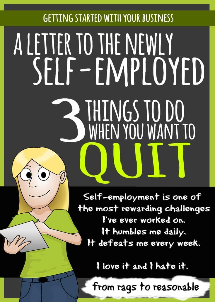 Letter to the self-employed