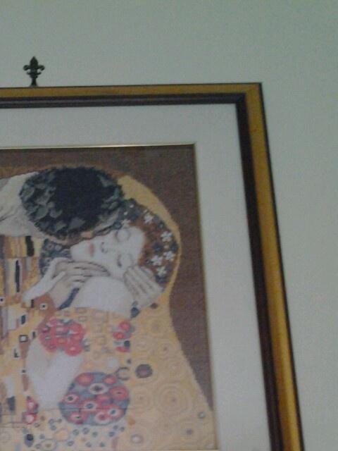 Klimt a punto croce