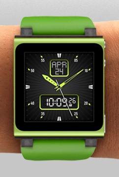 HEX Icon Watchband for iPod nano (6th Gen.)