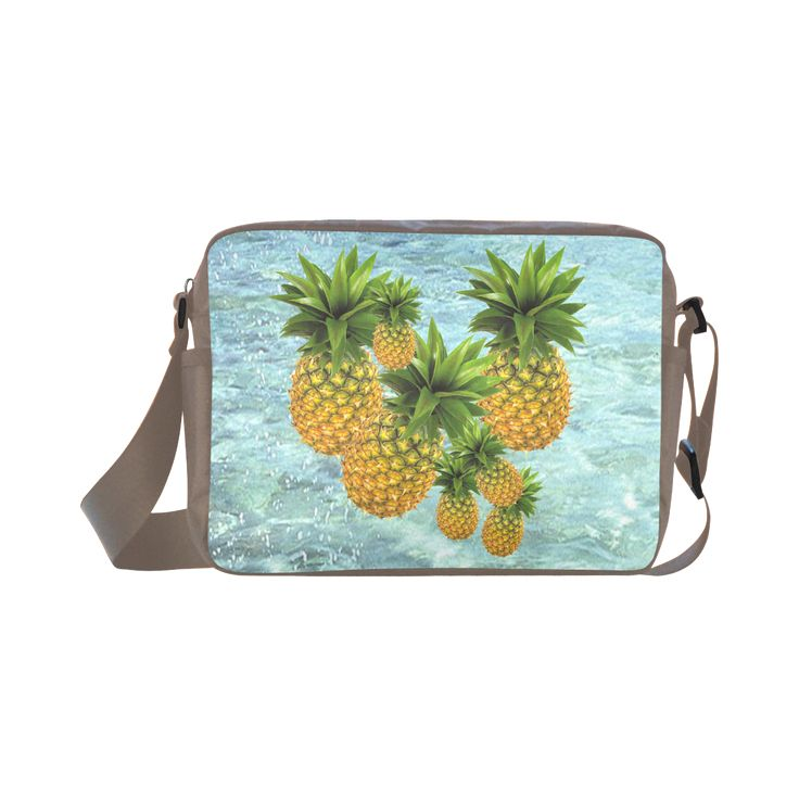 Pineapples Classic Cross-body Nylon Bag. FREE Shipping. #artsadd #bags #fruits