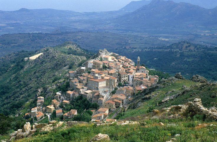 Speloncato, Corsica  May-June 1986