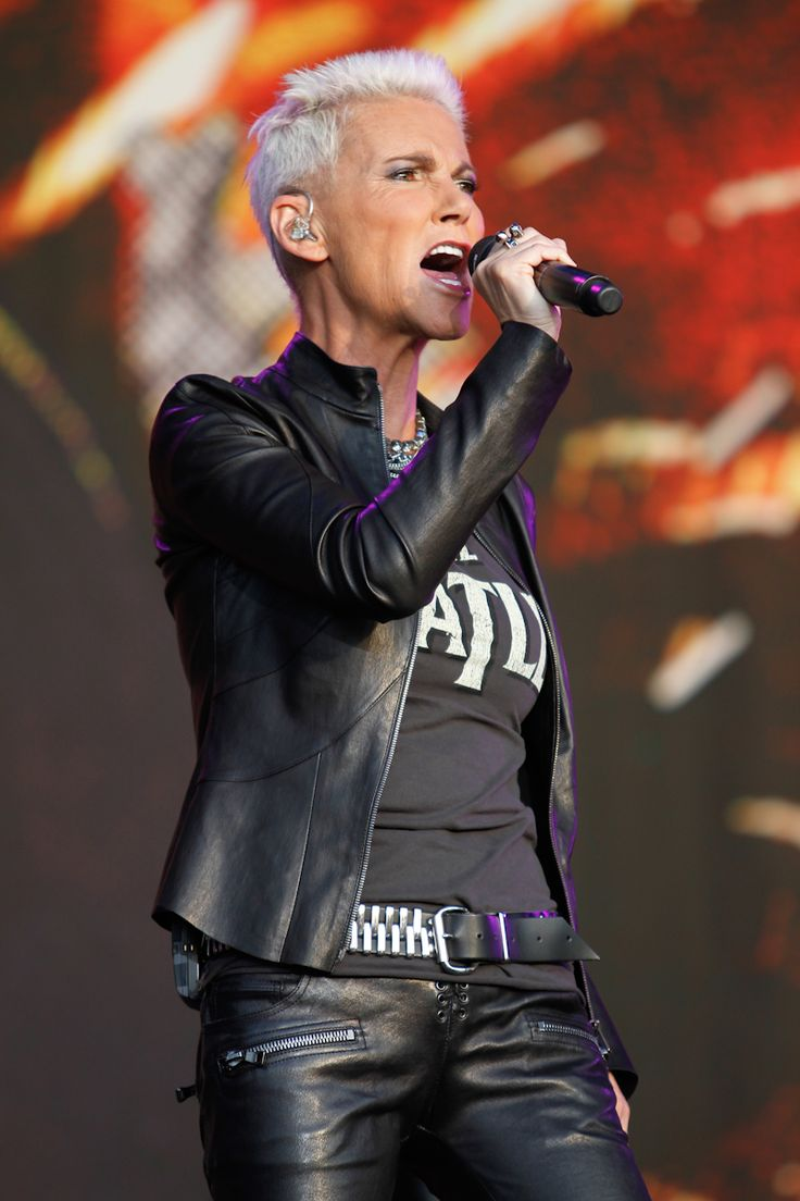 Marie Fredriksson-Roxette at Bospop festival The Netherlands 2011.