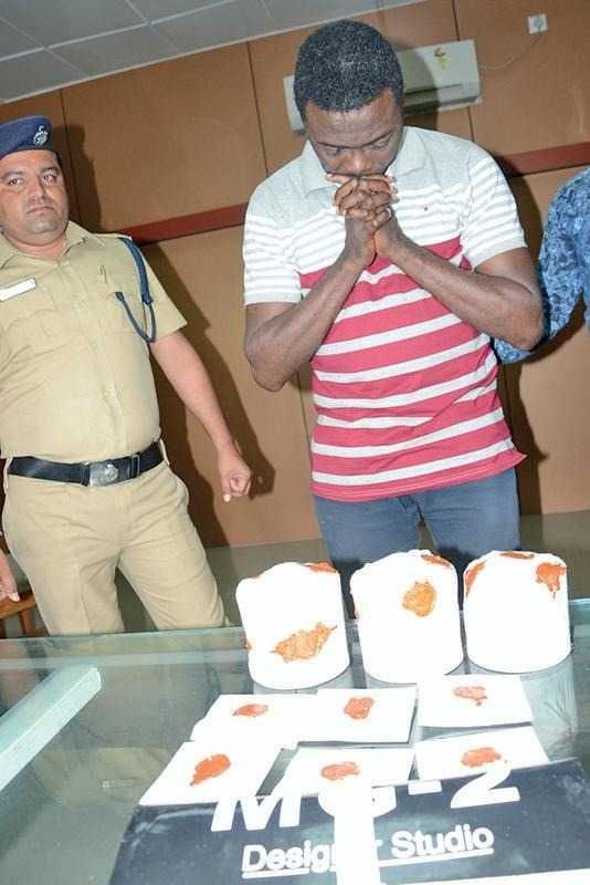 Photos: Nigerian man nabbed with 1.21 kg of heroin in India; claims he is HIV positive