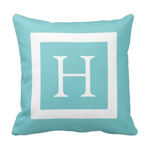 Teal Mint Custom Monogram Throw Pillow online after you search a lot for where to buyDeals          	Teal Mint Custom Monogram Throw Pillow Review from Associated Store with this Deal...