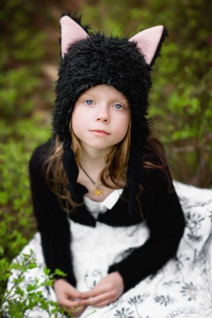 Little Cat hat (black) - Taikalinna
