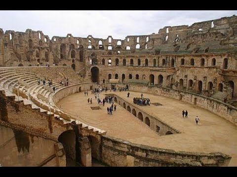 Экскурсия в Тунисе в город Эль-Джем. Колизей - амфитеатр и археологическ...