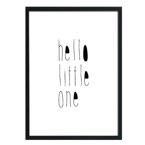 Let's Rebel Poster A3 Hello Little One - DE GELE FLAMINGO - 2