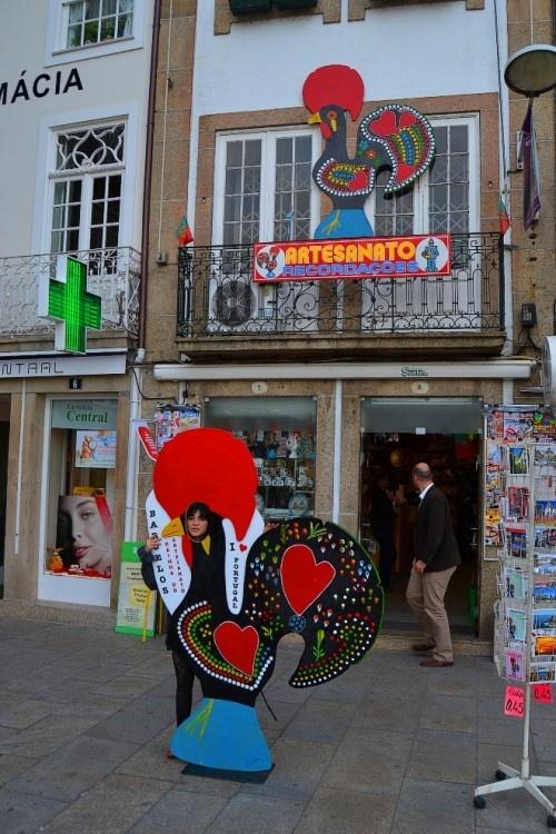 Gallo de Barcelos en Portugal #Portugal #turismo #viajar