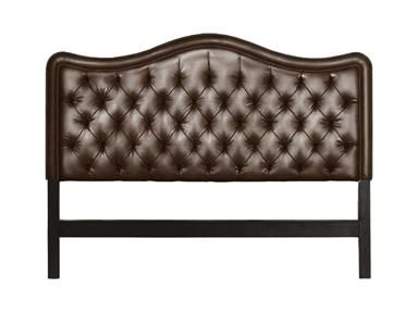 walter e smithe leather headboard
