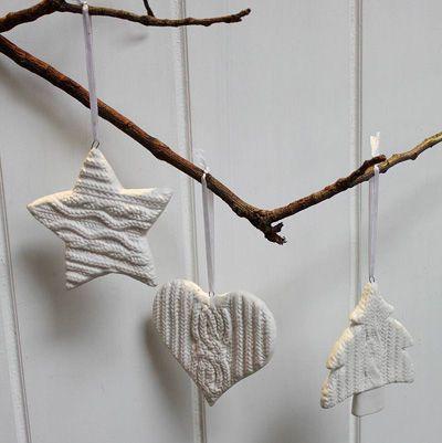 Dekoracje świąteczne handmade – Zimna porcelana. | Soutageria - biżuteria sutasz