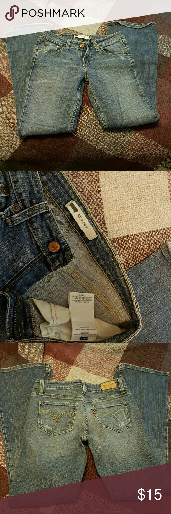 Levi's 519 Super low jeans Great jeans rarely worn. Levi's  Jeans Boot Cut