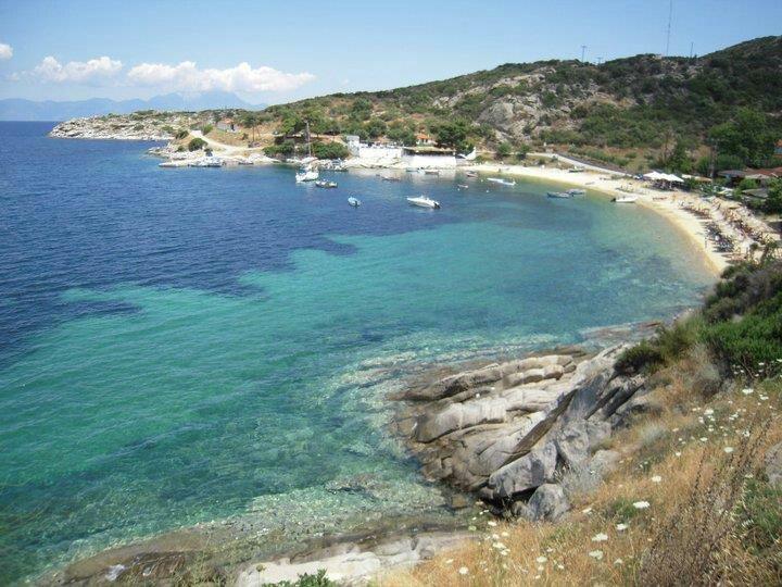 Sykia beach,Sithonia,Greece