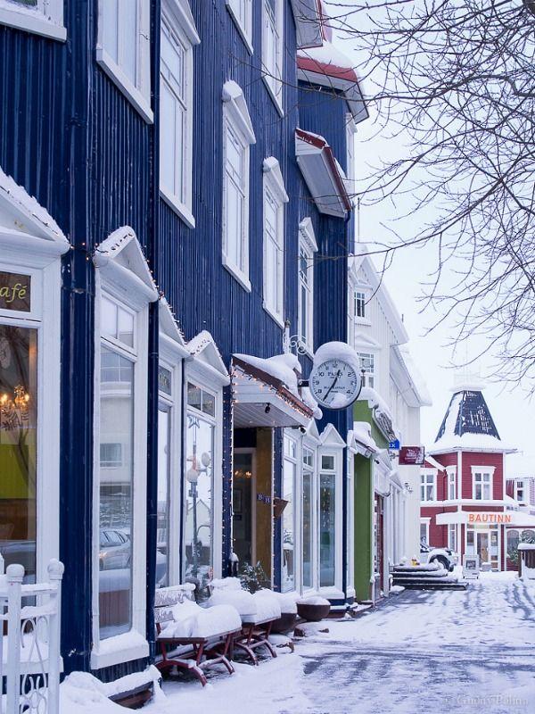 Downtown, Akureyri, Iceland