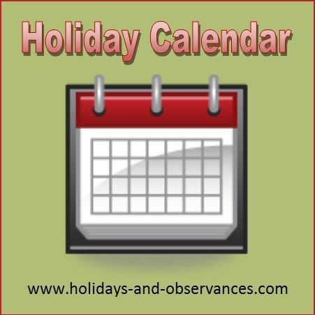 25+ Best Ideas about National Holiday Calendar on ...