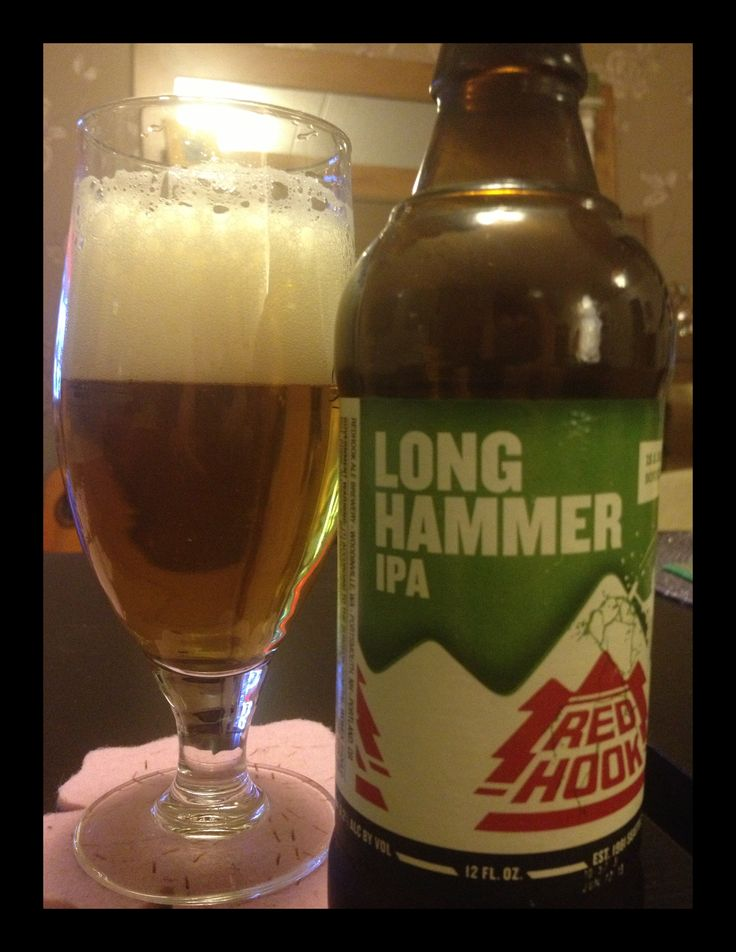 Redhook Longhammer IPA 6,2% Really easy to drink IPA, made to please the big crowd maybe...? A bit weak on a taste..
