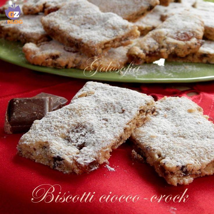 Biscotti ciocco-crock, ricetta buonissima