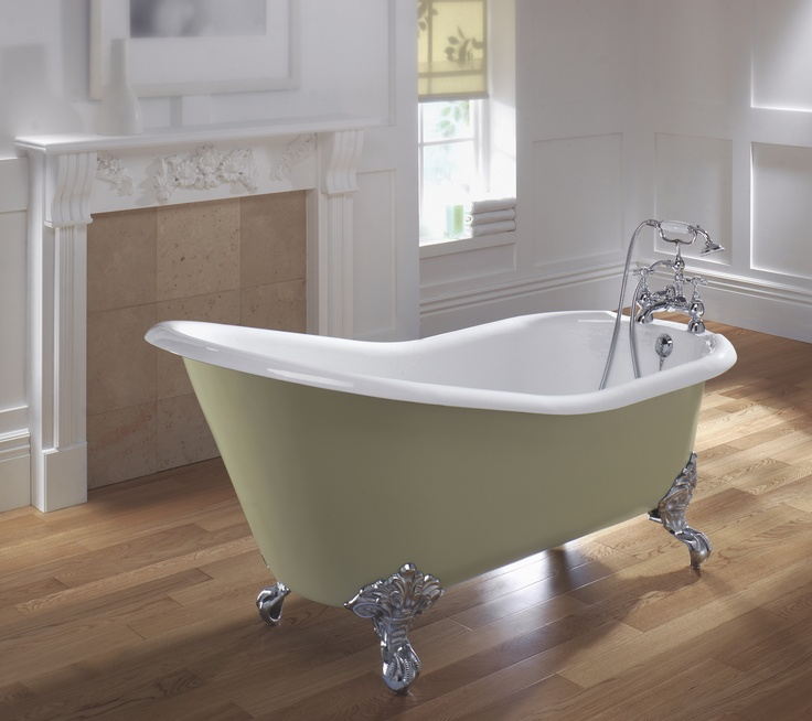 Ritz Slipper Bath with Claw Feet www.sinkandtap.com.au