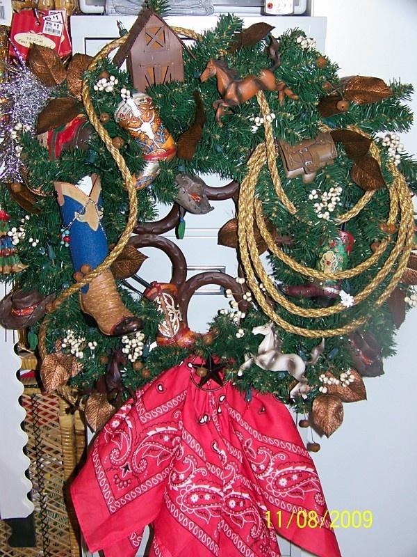 'Western' wreath