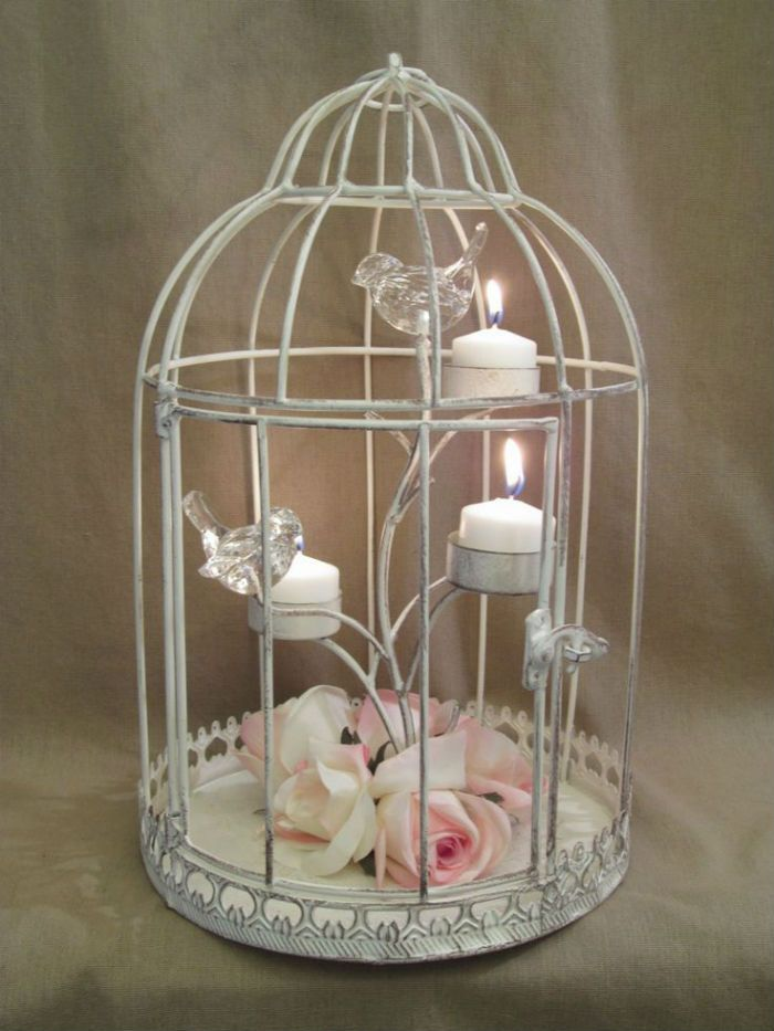 Bougeoirs cages a oiseaux 2                                                                                                                                                     Plus