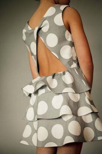 Figgy's - Scirocco - Twisted Back Dress Pattern : Sew Modern
