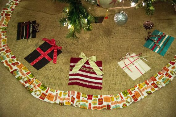 Best 59 Christmas tree skirts images on Pinterest Xmas, Christmas