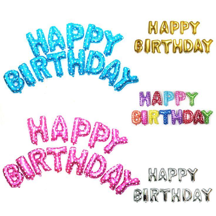 40cm Happy Birthday Letters Balloons Aluminium Foil Balloon Helium Ballons for Birthday Wedding Party Decor -  http://mixre.com/40cm-happy-birthday-letters-balloons-aluminium-foil-balloon-helium-ballons-for-birthday-wedding-party-decor/  #EventPartySupplies(Tobedeleted)