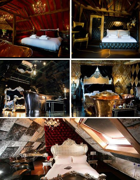 Crazy Bear Hotel, Beaconsfield, England Our favourite Hotel/Bar.. there will be many more times here <3