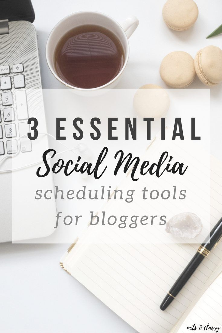3 Essential Social Media Scheduling Tools for Bloggers