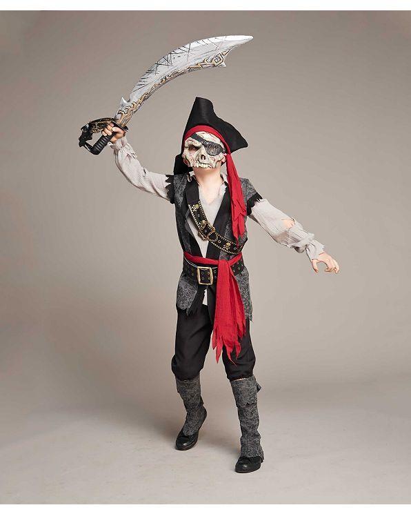 Пират костюм Призрака для мальчиков   чеканка светлячков