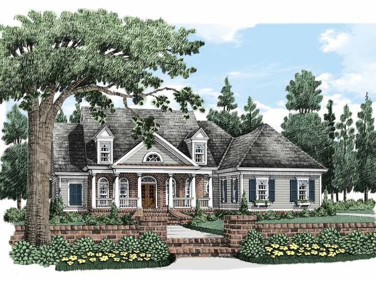 Cape cod house plan with 2490 square feet and 3 bedrooms s for Colonial cape