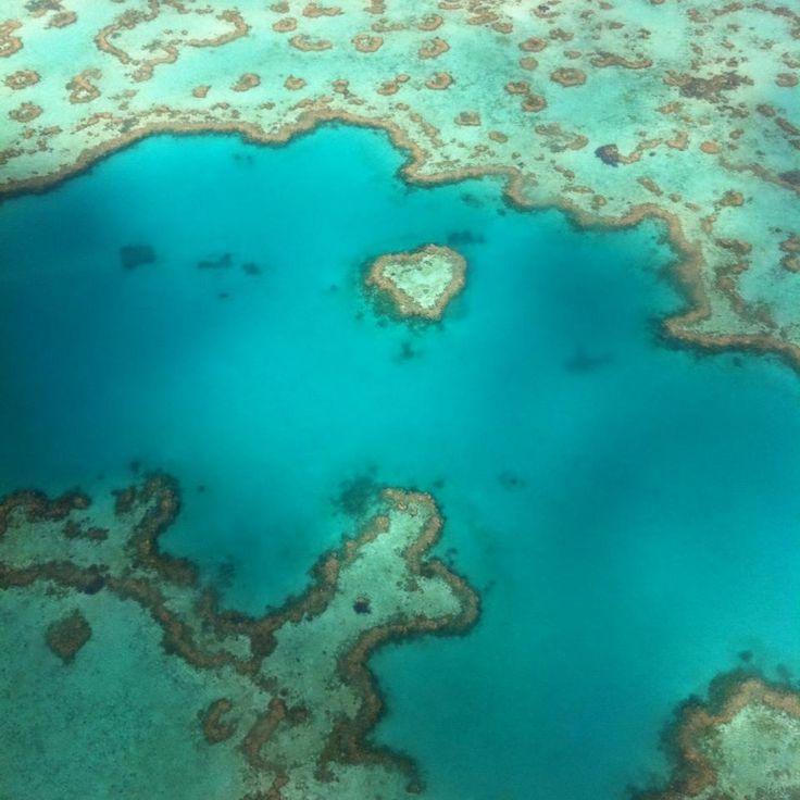 Heart reef, Airlie beach