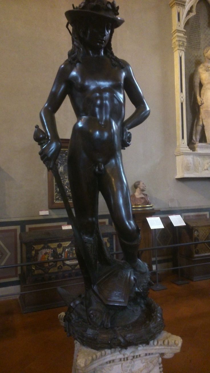 david michelangelo and donatello In 1501 michelangelo was commissioned to create the david by the arte della   to carve david had been worked on more than 50 years earlier by donatello.