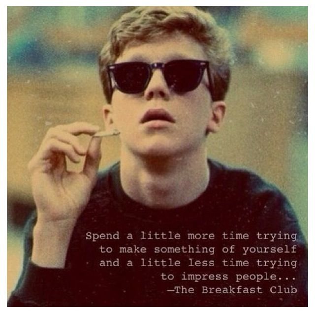 the importance of individualism in the movie the breakfast club Breakfast club is a classic gen x movie this cohort was shaped by families in transition – skyrocketing divorce rates, women returning to work the exaltation of childhood didn't really begin until the late 80's, with baby on board, bicycle helmets and parenting regarded as life's most important project.
