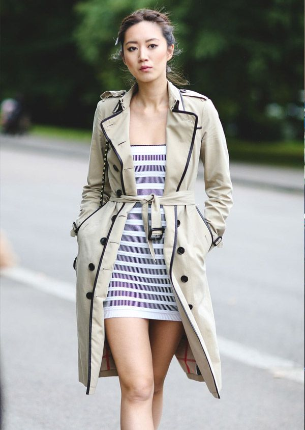 striped-dress-street-style-trench-coat
