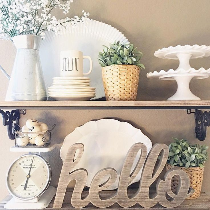 17 Best Ideas About Hutch Decorating On Pinterest