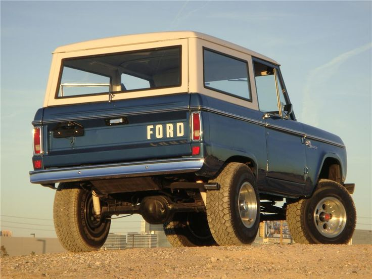 Early Ford Bronco Lifted | 1974 FORD BRONCO Lot 391 | Barrett-Jackson Auction Company