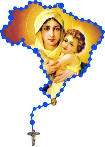 Rezemos o santo rosário, para termos um pais melhor