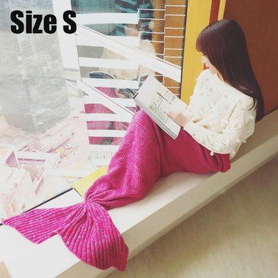 Mixture Crocheted / Knited Mermaid Tail Blanket-25.72 and Free Shipping | GearBest.com Mobile