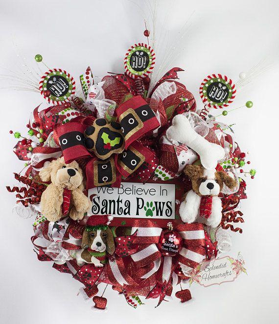 27++ Dog christmas wreath information