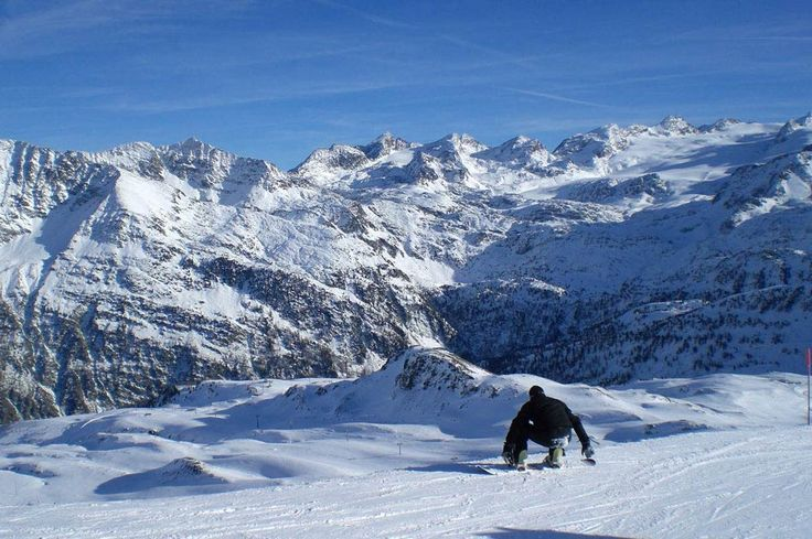 La Thuile, Italy - Great place to Ski in the shadow of Mont Blanc