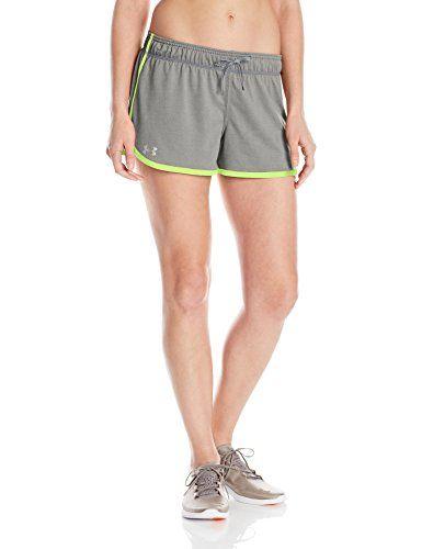 €6.02 in Gr. XL * Under Armour Damen Tech Fitness-Hosen & Shorts, True Grey Heather * Sportbekleidung Damen günstig