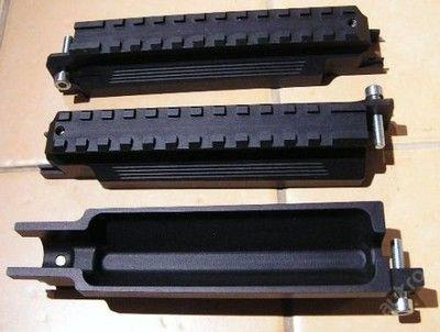 """Nadpažbí pro SA vz. 58, CZH, Tactical, Defender - Nadpažbí je vyrobeno z vysokopevnostní hliníkové slitiny, takže váží pouze cca 100g a přesto je téměř nezničitelné. Lišta weaver pro montáž kolimátorového zaměřovače je vyrobena podle vojenské normy MIL-STD 1913. Povrchová úprava """"matný tvrdý elox"""" Upevnění pomocí jednoho šroubu Inbus (na fotografii je ve stříbrné barvě, ale nadpažbí mohou být i s černým šroubem) je navrženo tak, aby bylo zajištěné pevné, opakovatelné upnutí bez vůle. Další…"""
