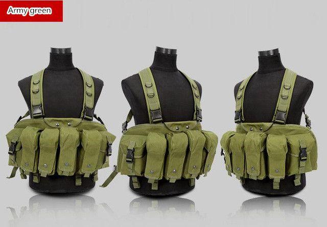 Professional magazine vests summer military tactical vests CS clothing vest US military tactical vest AK clip bellyband