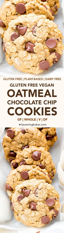 When aisha cooks how to make oatmeal custard my style aisha - Gluten Free Vegan Oatmeal Chocolate Chip Cookies V Gf Dairy Free