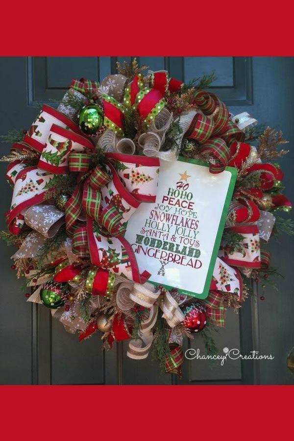 October 2018 Customer Wreaths  Centerpieces Christmas Decor