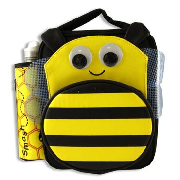 JUNIOR 3D EARBAG & 500ml BOTTLE - BEE