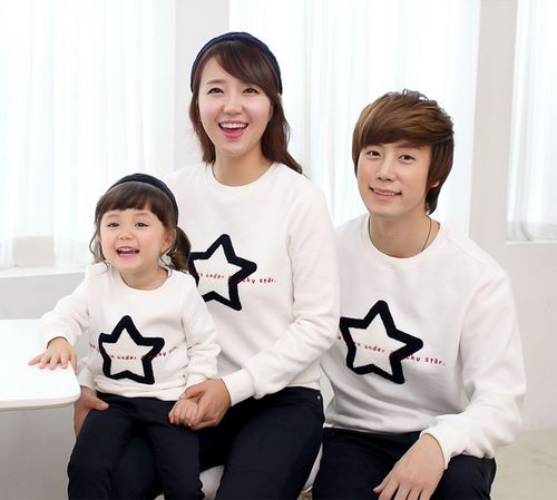 [FUNNYLOVE] LUCKY STAR SWEATER