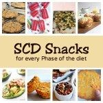 SCD Snacks for every Phase of the diet