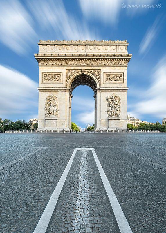 Arc de Triomphe in Paris by David Duchens on 500px