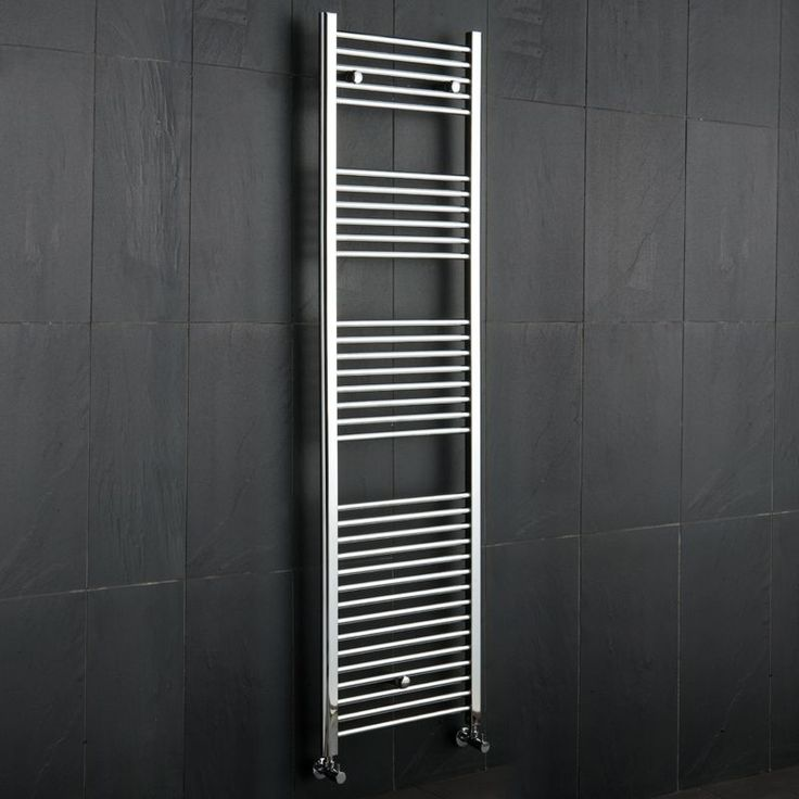 Revamp your bathroom with this stylish heated towel rail